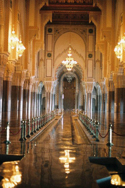 Carnet de route maroc 3 semaines casablanca mosquee for Mosquee hassan 2 interieur